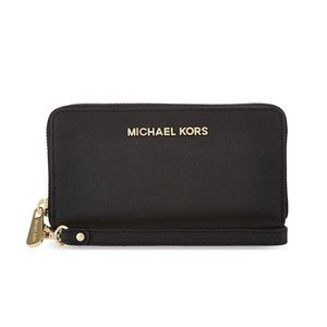 Black leather Michael Kors Wallet